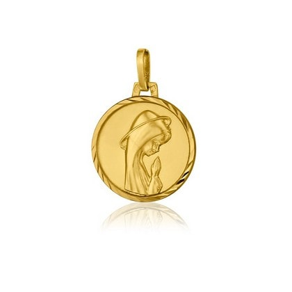 médaille Vierge Priante